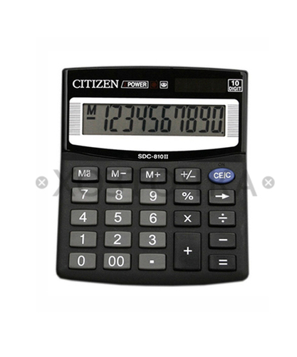 Калькулятор Citizen SDC-810